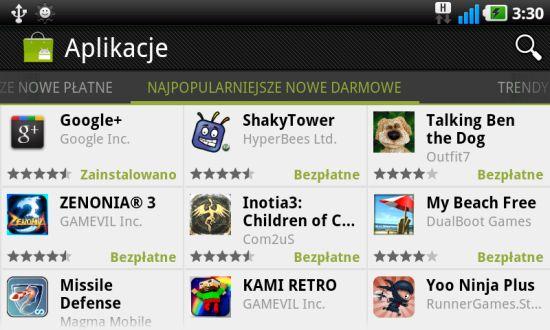 Najpopularniejsze nowe darmowe aplikacje