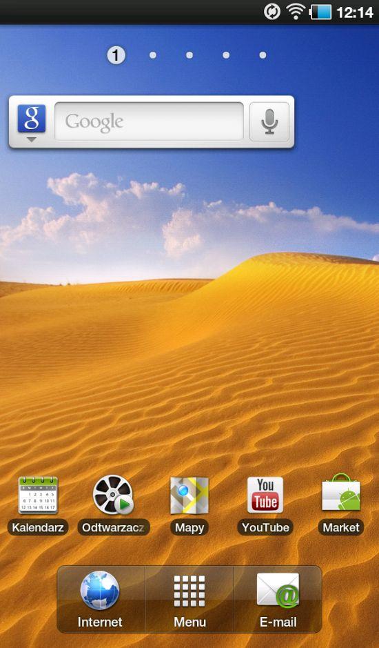 Pulpit - nakładka TouchWiz