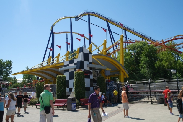 Wej?cie na Top Thrill Dragster