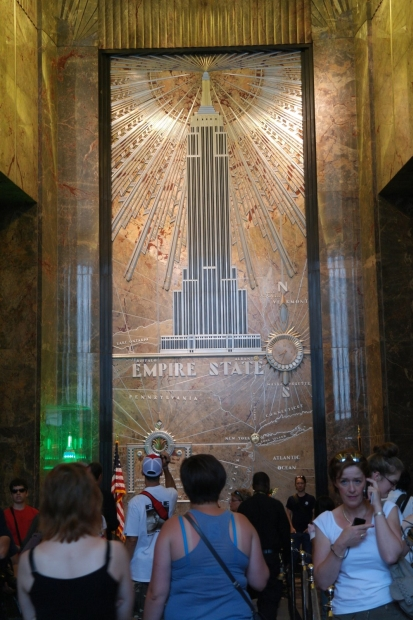 Wej?cie do Empire State Building