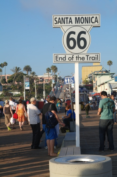 Route 66: End of the Trail