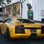 Lamborghini na Sunset Boulevard
