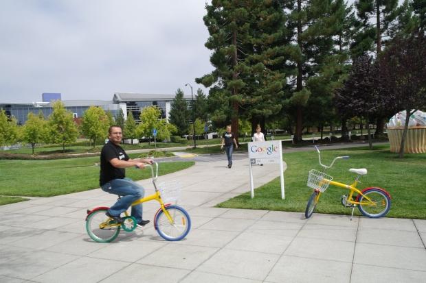 Na Google Bike ;)
