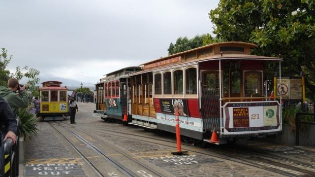 Tramwaje linowe, San Francisco