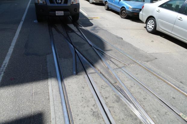 Zwrotnica tramwaju linowego