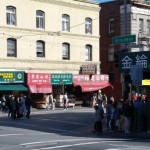 Ulice Chinatown w San Francisco