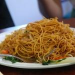 Obiad w chińskiej knajpce w Chinatown, San Francisco