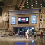 Luxor hotel lobby