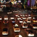 Skrzyżowanie na Las Vegas Boulvard
