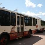 Autobusy w Zion National Park