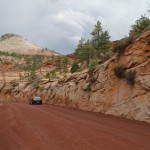 Wyjazd z Zion National Park
