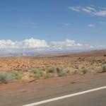 W drodze do Antelope Canyon