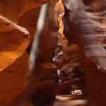 Wnętrza Antelope Canyon