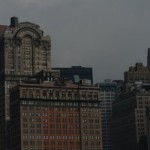Manhattan z promu