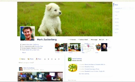 Facebook Timeline Example