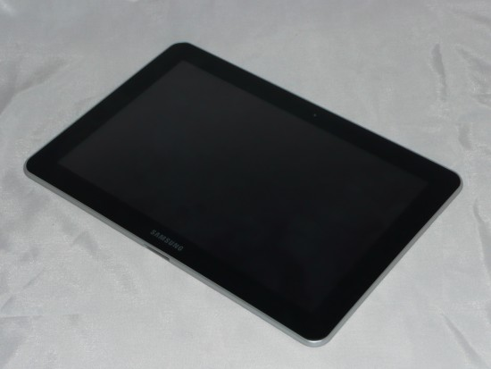 Galaxy Tab z przodu