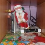 Mikołaj ze sprzętem