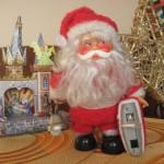Mikołaj i szopka