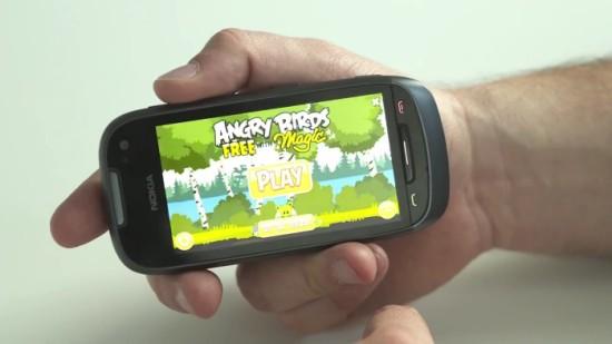 Angry Birds w prezentacji Nokii