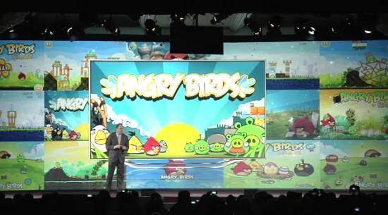 Angry Birds w TV Samsunga