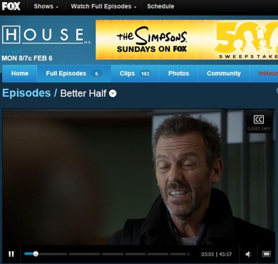 House na Fox.com