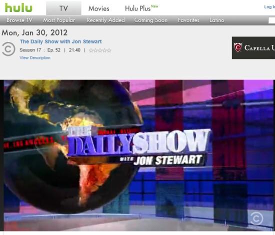 Programy na Hulu