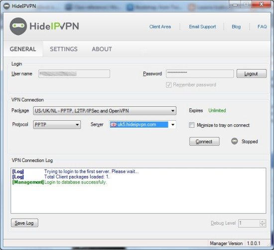 HideIpVPN App