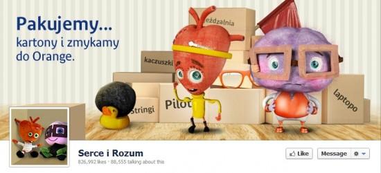 Serce i Rozum na Facebooku