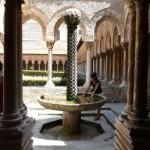 Monreale - fontanna