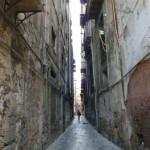 Palermo - jedna z bocznych uliczek