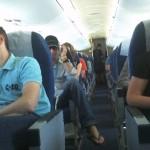 W drodze do Kopenhagi - ekipa w CRJ-900