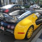 Bugatti na Rodeo Drive, Beverly Hills