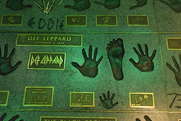 Def Leppard - The Guitar Center