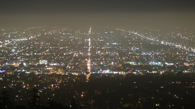 Los Angeles noc? z Griffith Observatory