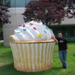 Android 1.5 Cupcake ;)