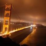 Golden Gate Bridge by night