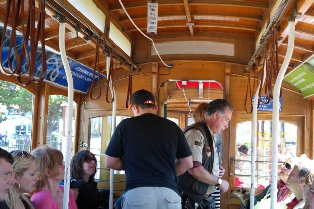 Wn?trze tramwaju linowego