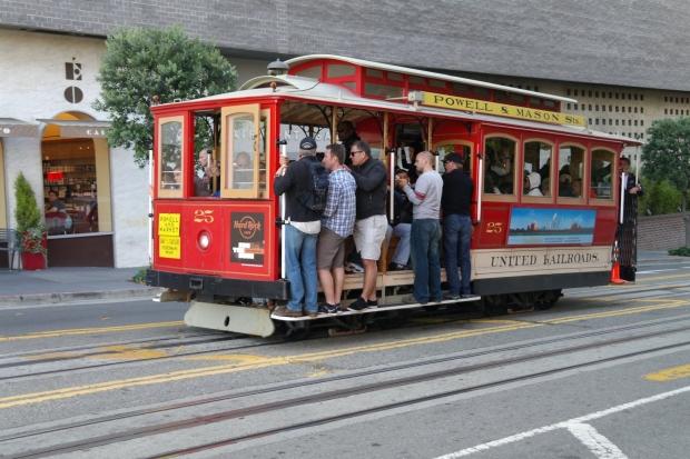 Tramwaj linowy, SF