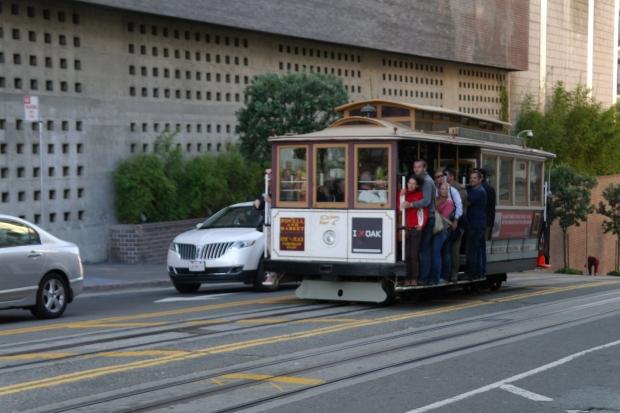 Cable Car (Tramwaj linowy) w San Francisco