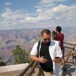 Nad Grand Canyon