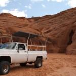 Wej?cie do Antelope Canyon