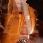 Snop ?wiat?a w Antelope Canyon