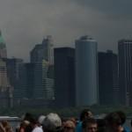 Na promie p?yn?cym na Liberty Island